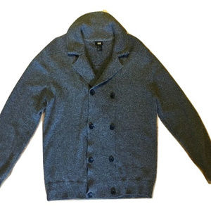 H&M Cardigan Double Breasted 100% Cotton Large